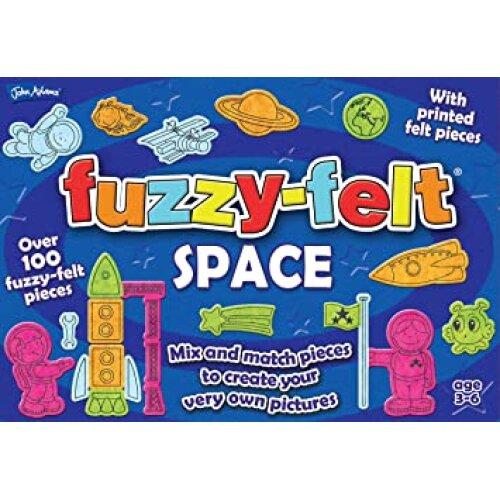 Fuzzy Felt 10624 Space, Multi