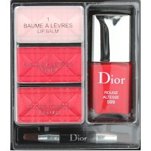 Dior Holiday Couture Collection Lip And Nail Palette 4 Pcs Set New