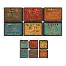 Pimpernel Lunchtime Placemats & Coasters, Set of 6