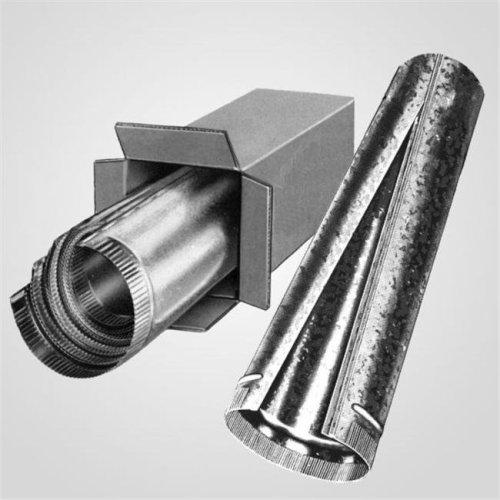 6 x 24 Inch Galvanized Pipe