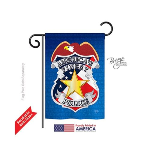 Breeze Decor 58030 Military Police 2-Sided Impression Garden Flag - 13 x 18.5 in.
