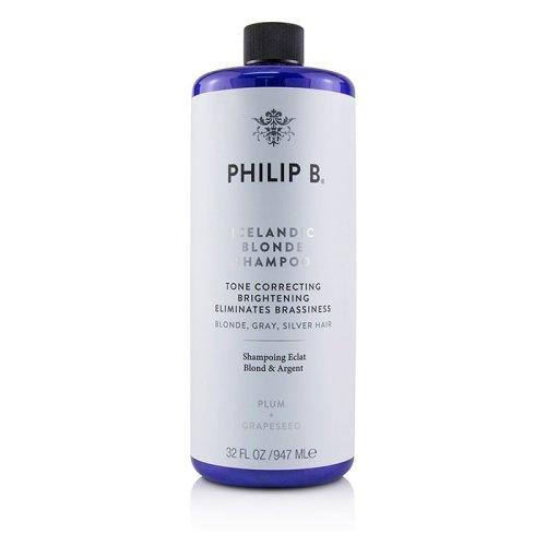 Icelandic Blonde Shampoo (tone Correcting Brightening Eliminates Brassiness - Blonde Gray Silver H - 947ml/32oz