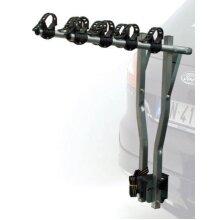 ETC ERR027 Deluxe 4-Bike Car Rack - Silver
