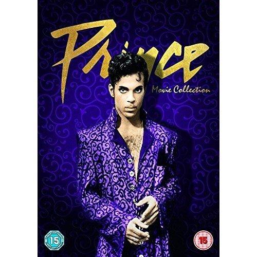 Prince Movie Collection - Purple Rain / Under the Cherry Moon / Graffiti Bridge DVD [2016]