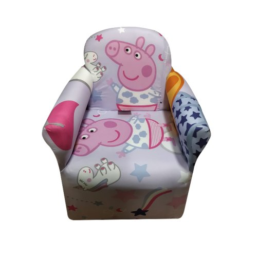 Kids Children's Chair Armchair Baby Sofa Seat Fabric Upholstered S10
