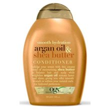 OGX Conditioner, Smooth Hydration Argan Oil &amp Shea Butter, 13oz