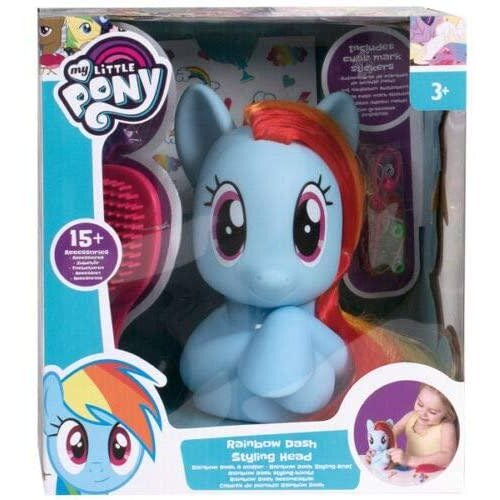 My Little Pony Rainbow Dash Styling Head With 15 Accessories