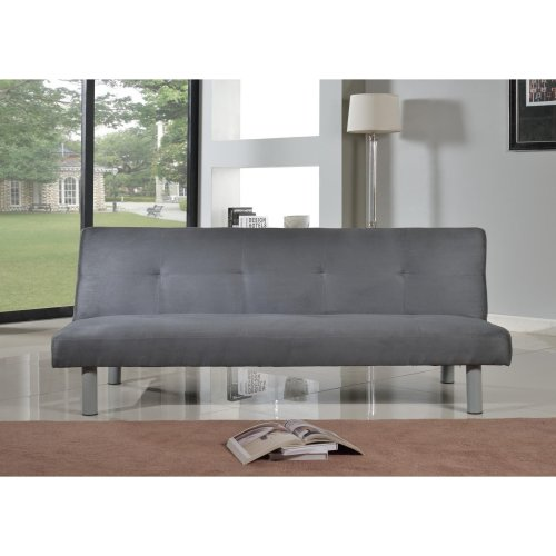 Byron Faux Suede Sofa Bed