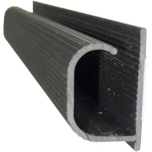 2.5 m Mini Wire Channel with Tape - Black