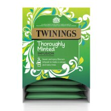 Twinings Thoroughly Minted Pyramid Tea Bags - 4x15