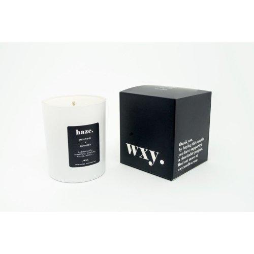 WXY. Classic 7oz Candle HAZE - Patchouli & Hemp