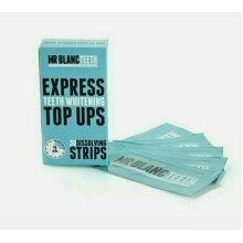 Mr Blanc Express Teeth Whitening Top Ups - 30 Dissolving Strips - Peroxide Free