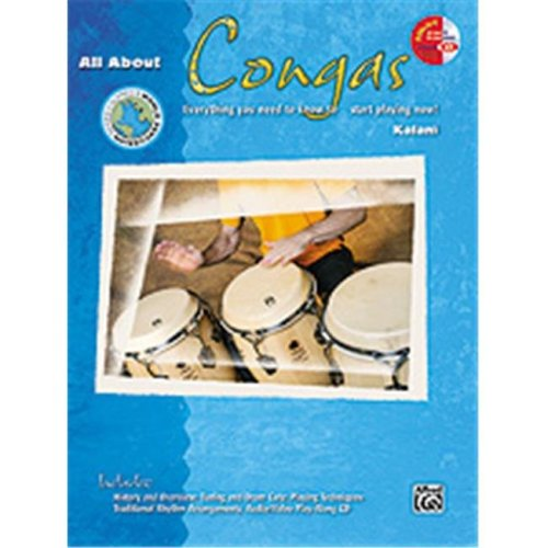 Alfred 00-21453 ALL ABOUT CONGAS-BK&ECD