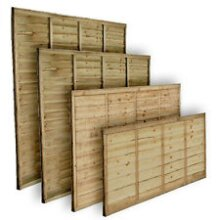 Wooden Garden Fence Panels