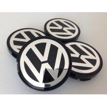 VW 55mm Alloy Wheel Centre Caps Golf Jetta Passat Beetle 6N0,01 171 x4