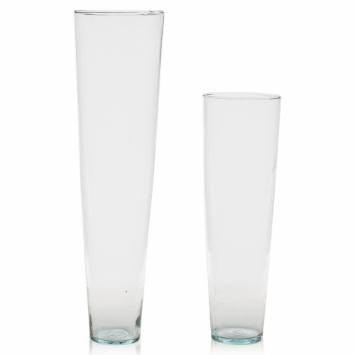70cm/50cm Tall Clear Recycled Large Glass Flower Vase Wedding Decor Home Party