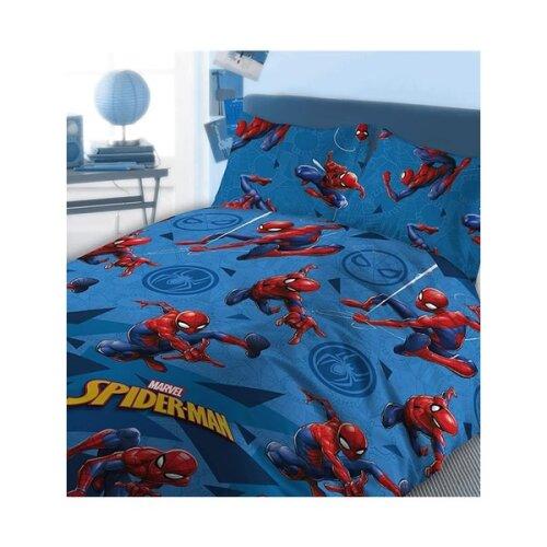 Marvel Spiderman Kids Comic Bedding Double Duvet Cover Set