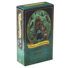 Forest of Enchantment Tarot 78-Cards Deck English the woods are alive With Magic
