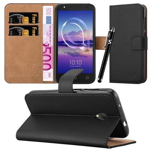 For Alcatel U5 HD (5047Y) Leather Wallet Case