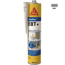 Sikaflex EBT+ Three In One Adhesive, Sealant and Filler, Grey, 300 ml
