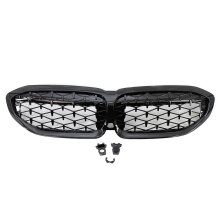 Glossy black grill front kidney grille replacement for bmw 3 series g20 racing 2019 2020