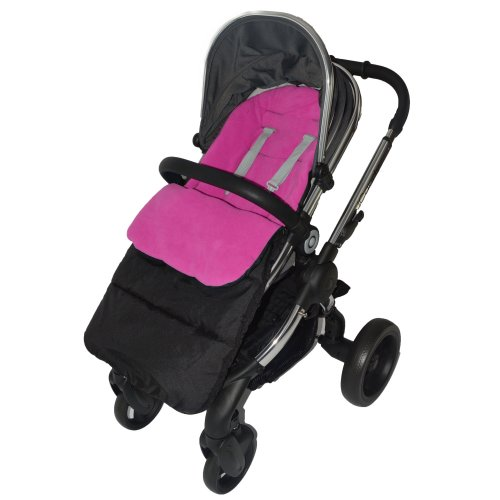 Cosy Toes Compatible with Maclaren Quest Sport Pushchair Fire Red Footmuff
