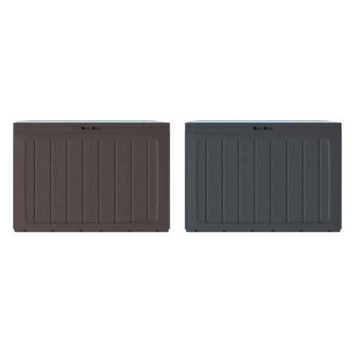 Outdoor Plastic Storage Box Chest Lid Container