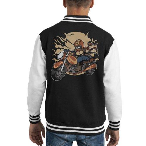 Wild Biker Kid's Varsity Jacket