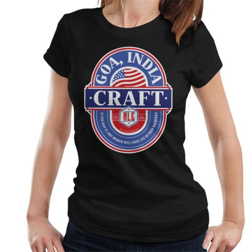 Goa India Craft Ale Women's T-Shirt