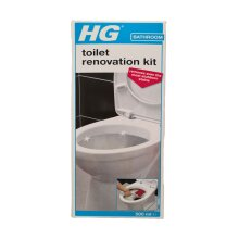 HG toilet renovation kit 500ML - An extremely strong toilet cleaner