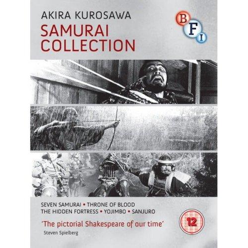 Akira Kurosawa - Samurai Collection (4 Films) Blu-Ray [2014]