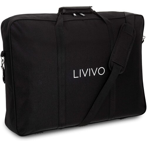 Livivo Heavy Duty Orchestral Music Sheet Stand Storage Bag Carry Case orchestral music stands Black