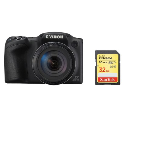 CANON SX430 Black + SanDisk Extreme 32G SD card