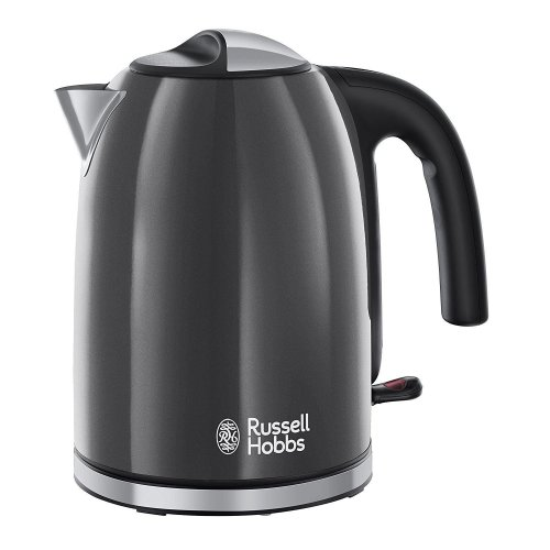 Russell Hobbs 20414 Colours Plus 1.7L Cordless Electric Kettle - Grey