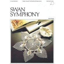 Crochet Pattern Swan Symphony Swan Doilies