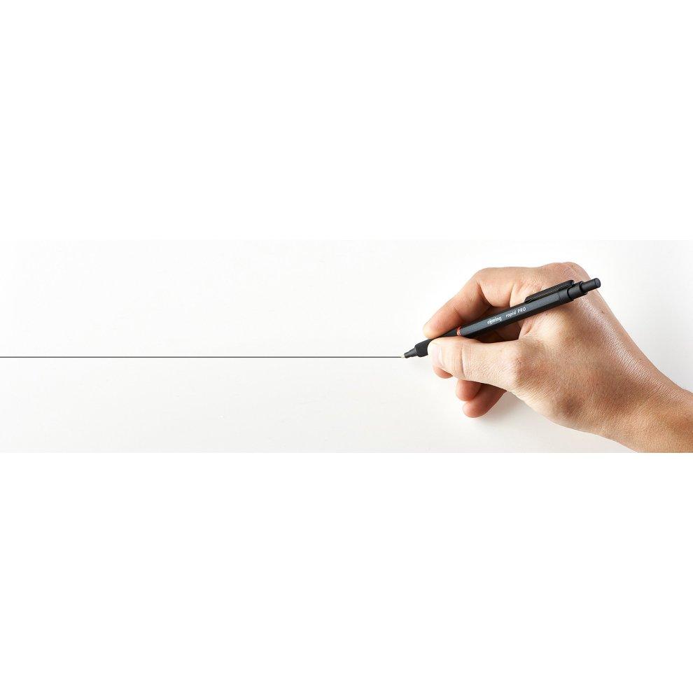 Black Body rOtring Rapid Pro Medium Point Ballpoint Pen 1904292