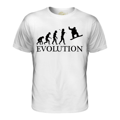 Candymix - Snowboarder Evolution - Men's T-Shirt Top