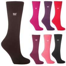 Heat Holders - Ladies Thick Winter Warm Thermal Socks 4-8 UK