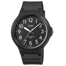Casio MW240-1BVEF Men's Analogue Watches with Resin Strap - Black