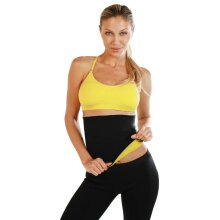 Hot Shapers Slimming Belt Size L Workout Exercise Body Waist Shapewear HOB003