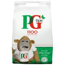 PG Tips Catering One Cup Pyramid Tea Bags - 2x1100