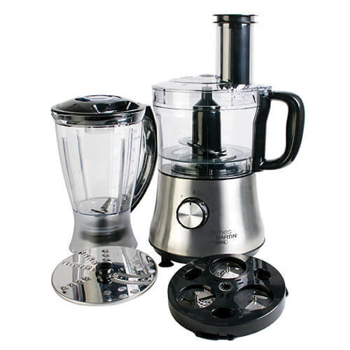Wahl James Martin Food Processor Compact with Spiralizer, 500 W, 1.5 Litre with Spiralizer Electric