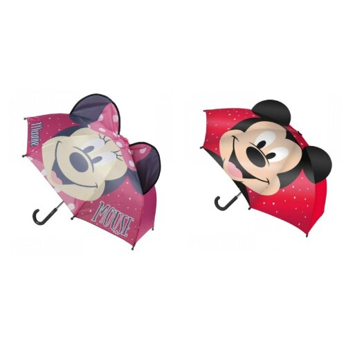 Mickey Minnie Mouse Childrens/Kids Pop Up Umbrella