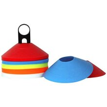 Optimum Football / Rugby Pitch Training Marker Cones - Set Of 50