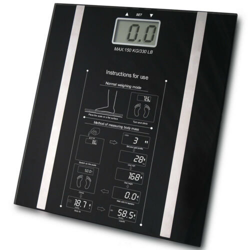 igital Body Weight Loss Fat Analyser Scales 150Kg Weighing Scale