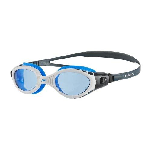 Speedo Mens Futura Biofuse Antifog Black Flexible Comfort Swimming Goggles