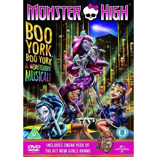 Monster High - Boo York, Boo York DVD [2015]