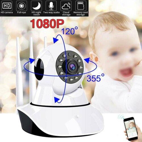 1080P HD WiFi Wireless IP Camera Home Pet Baby Monitor Smart Night Vision CCTV CAM