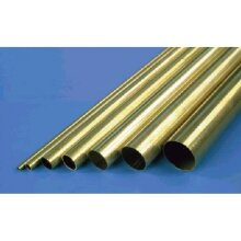 "K&S Metals - Brass Tube MKS-8126 3/32 x 12"""