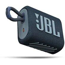JBL GO3 Portable Bluetooth Wireless Speaker  Waterproof Speakers, Blue